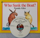 Who Sank the Boat? Book and CD Pack