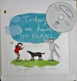 Today we have NO PLANS book and CD pack