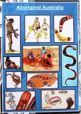 Aboriginal Australian People  A3 Poster