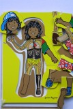 Aboriginal Girl - 3 Layer Puzzle