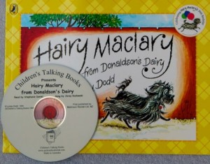 Hairy Maclary from Donaldson's Dairy Book and CD Pack