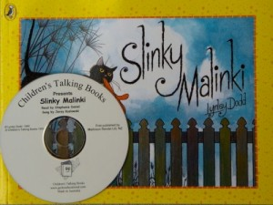 Slinky  Malinki Book and CD Pack