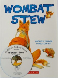 Wombat Stew Book and CD Pack