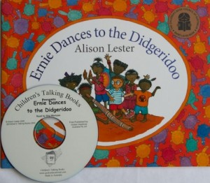 Ernie Dances to the Didgeridoo Book and CD Pack