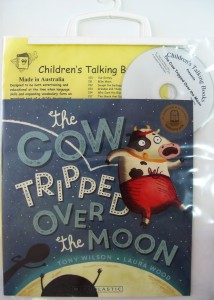 The Cow Tripped over the Moon Book and CD pack