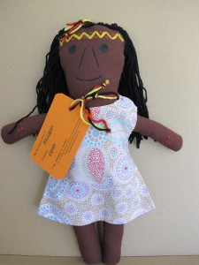 Aboriginal Girl Doll