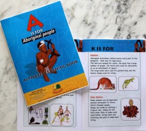 A is for Aboriginal People - Alphabet Learning Book
