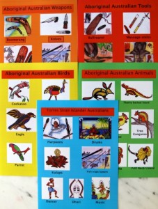 Indigenous Culture Poster - Set of 5  A4 size