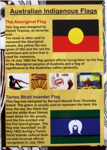 Australian Indigenous Flags  A3 Poster