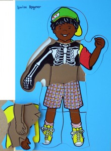 Aboriginal Boy - 3 Layer Puzzle