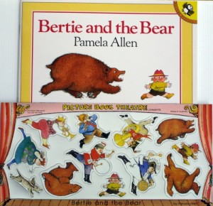 Bertie and the Bear BOOK and MAGNET Pack